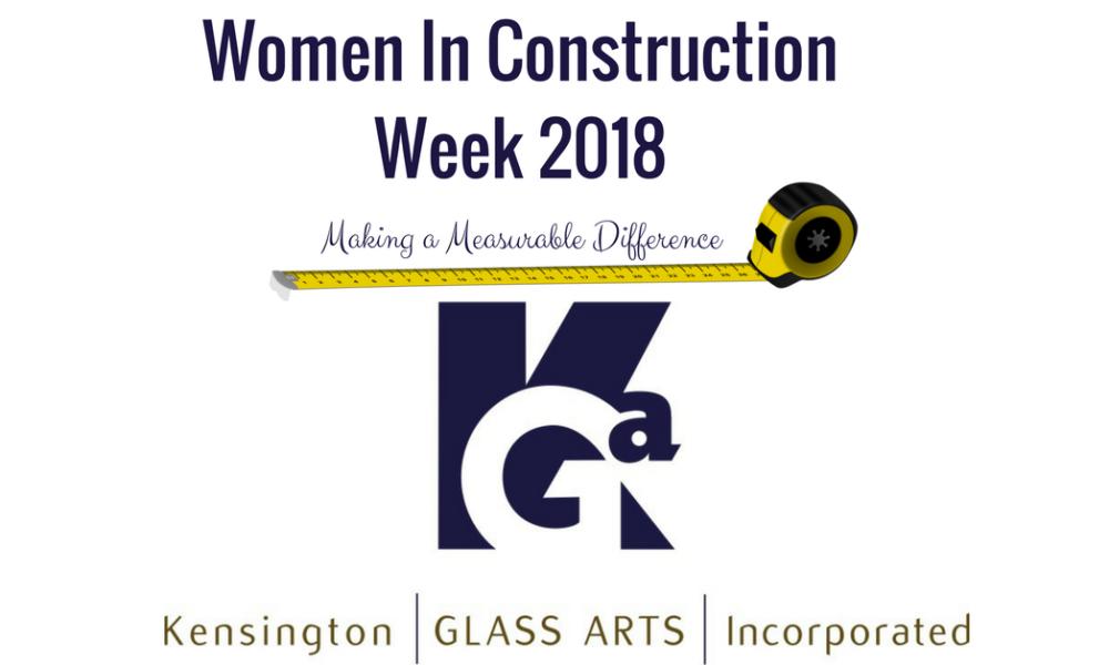 Celebrating Women in Construction Week 2018