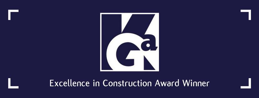 ABC Baltimore Awards KGa-Baltimore With an Excellence in Construction Award