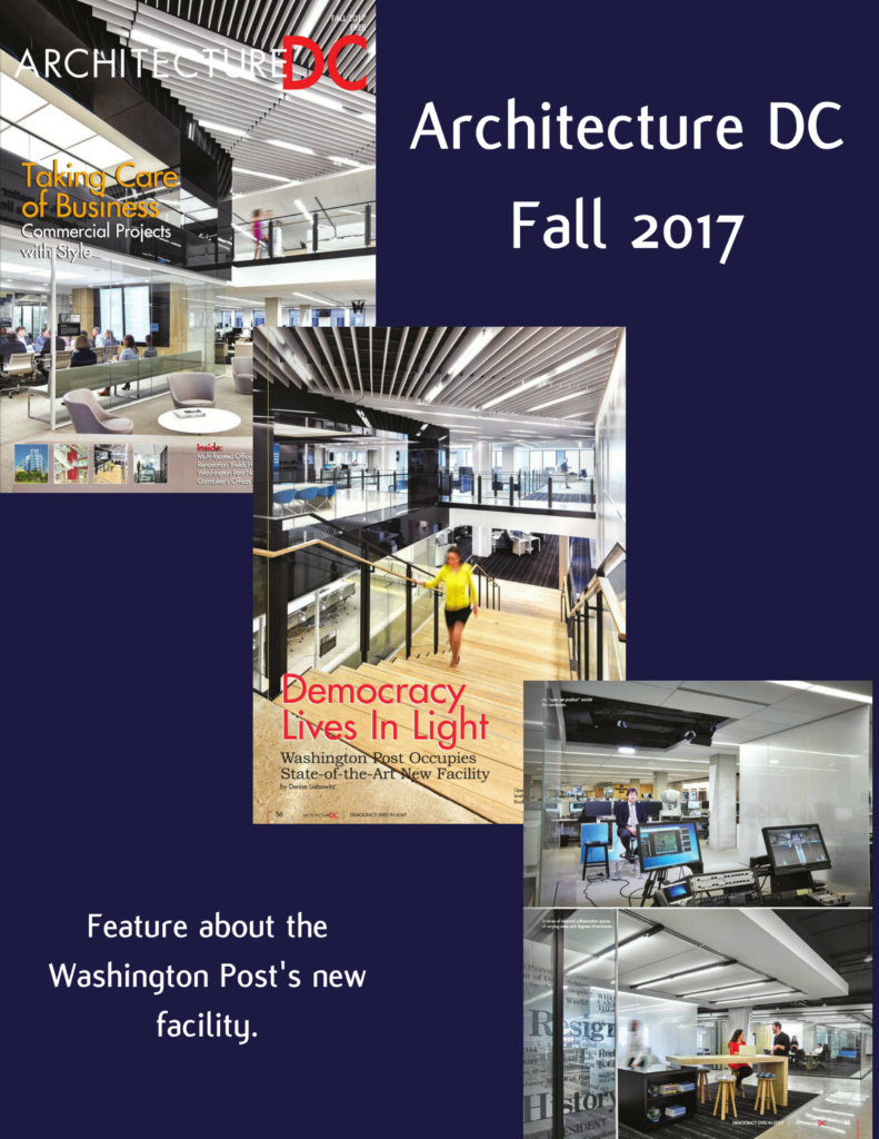 Architecture DC Fall 2017 | KGa Project, Washington Post Featured