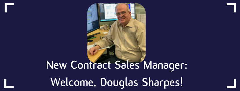 New Contract Sales Manager: Welcome, Douglas Sharpes