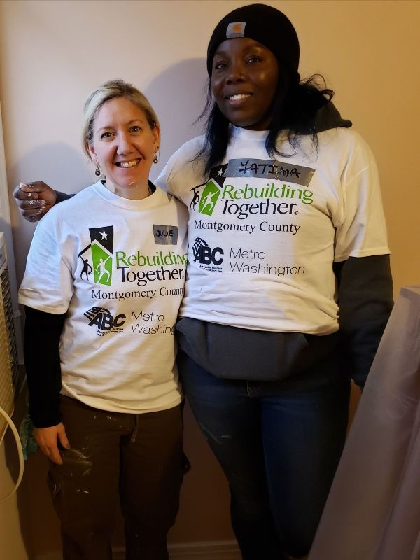 Chief of Staff Julie Whitehair & APM Fatima Campbell Participate in SheBuilds During Women in Construction Week 2019
