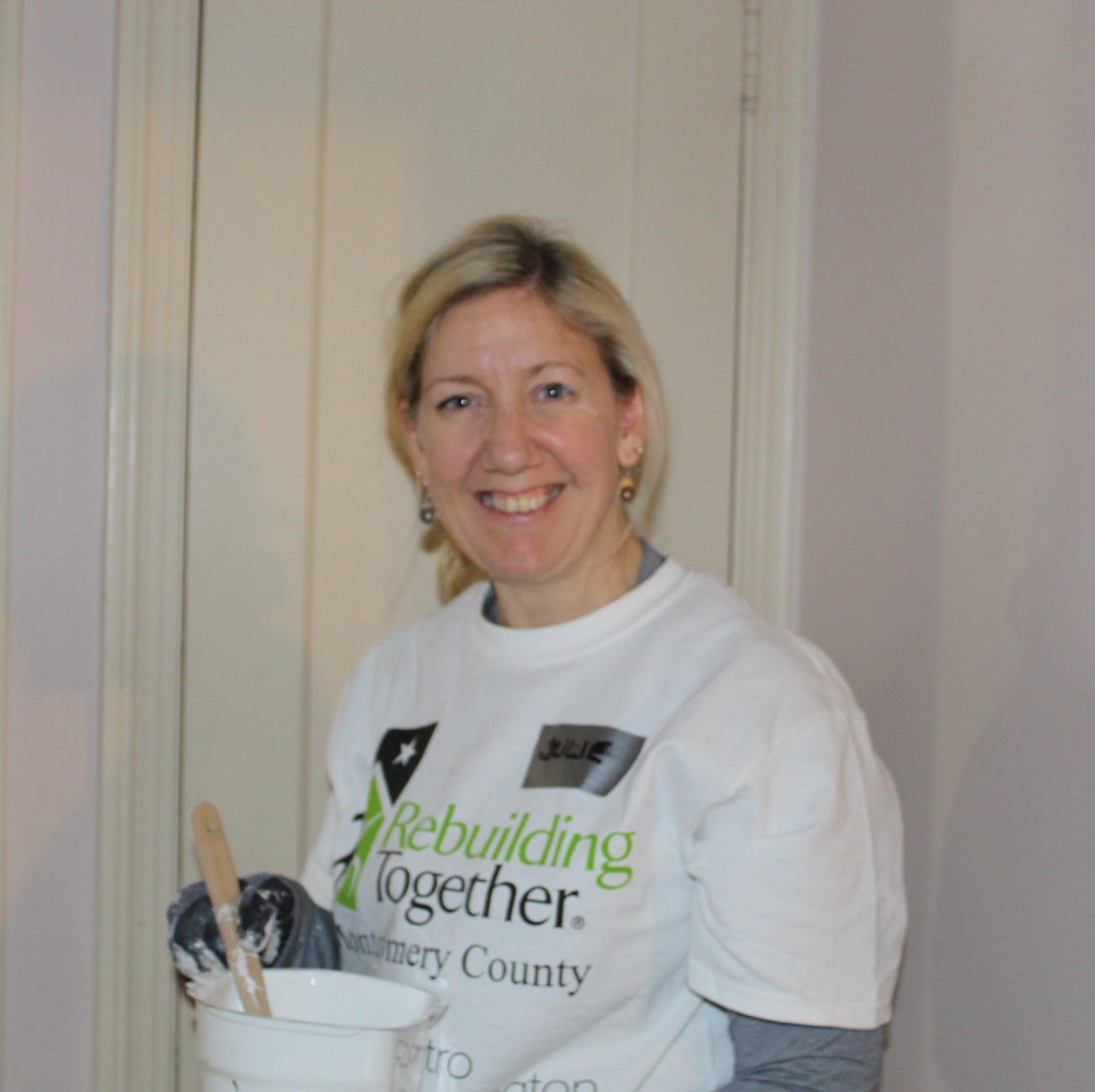 KGa Chief of Staff, Julie Whitehair Paints During SheBuilds Event