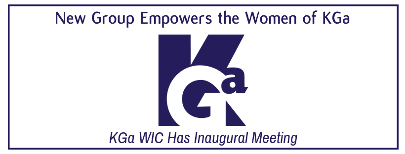 New Group Empowers the Women of KGa