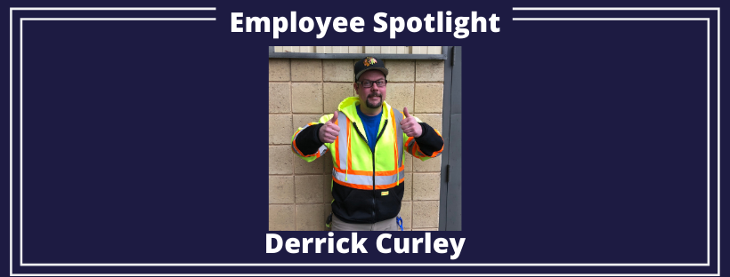 Employee Spotlight on Derrick Curley