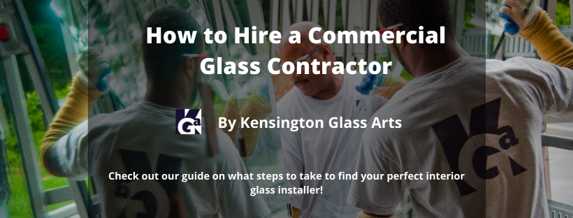 How To Hire a Commercial Glass Contractor