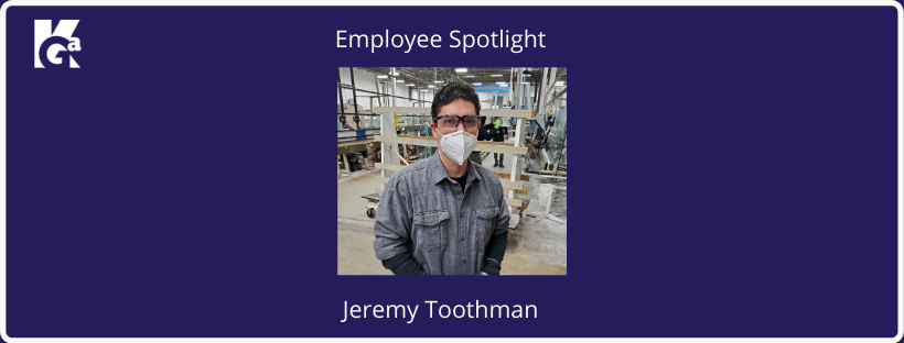 Employee Spotlight Jeremy Toothman
