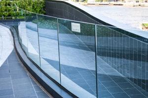 image of tempered laminated glass railing