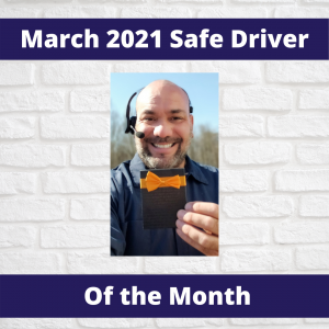 KGa's Safe Driver of the Month of March, 2021, George Beane