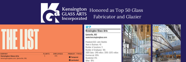 KGa Top 50 Glazier and Fabricator