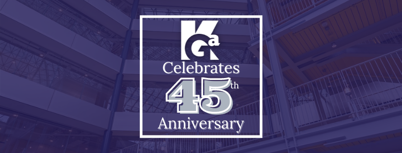 KGa Celebrates 45th Anniversary